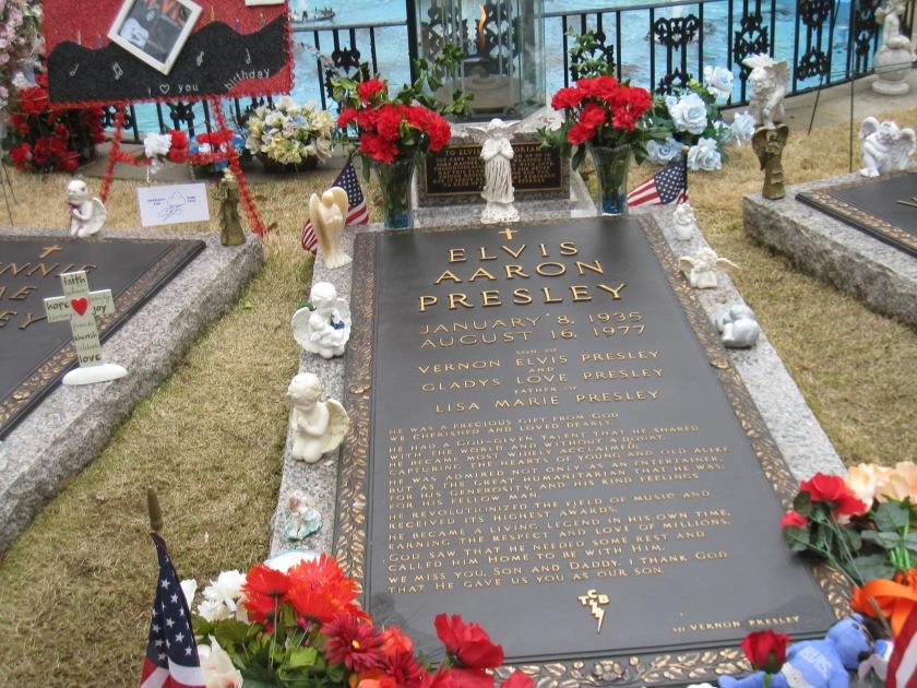 Elvis Headstone