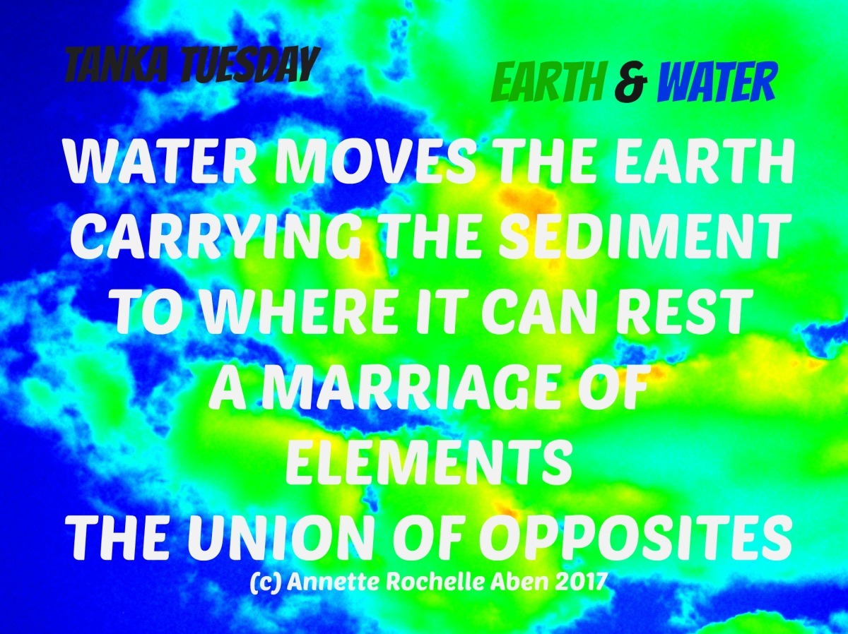 Colleen's Weekly Poetry Challenge #26 Earth &Water