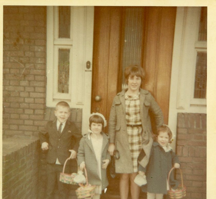 Willy, Sally, Marianne, Toni, Amersfoort Easter, 1965