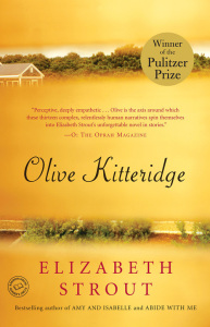 yellow Olive Kitteridge book cover